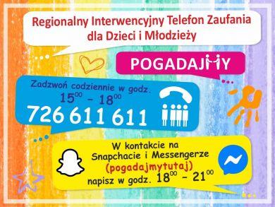 Czytaj więcej: Telefon Zaufania dla Dzieci i Młodzieży