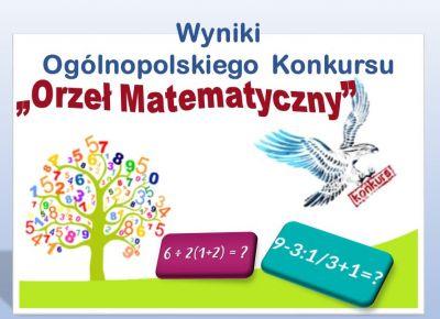 Czytaj więcej: Orły matematyczne w naszej szkole!