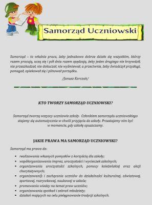 Czytaj więcej: Samorząd Uczniowski 2017/2018