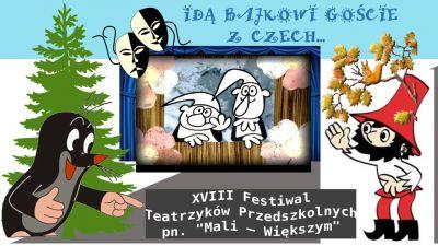 Czytaj więcej: Festiwal Teatrzyków Przedszkolnych
