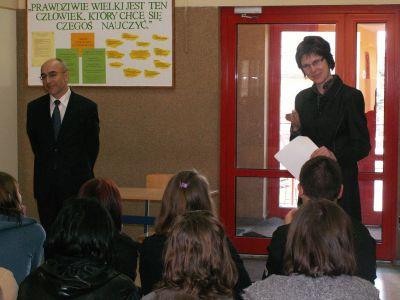 Czytaj więcej: Spotkanie z z-ca burmistrza Zelowa p. K. Hudzikiem